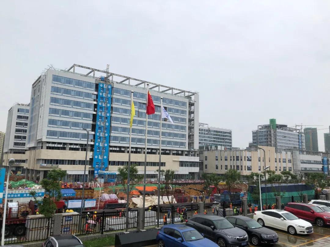 成都双流京东方医院防火雾化玻璃项目
