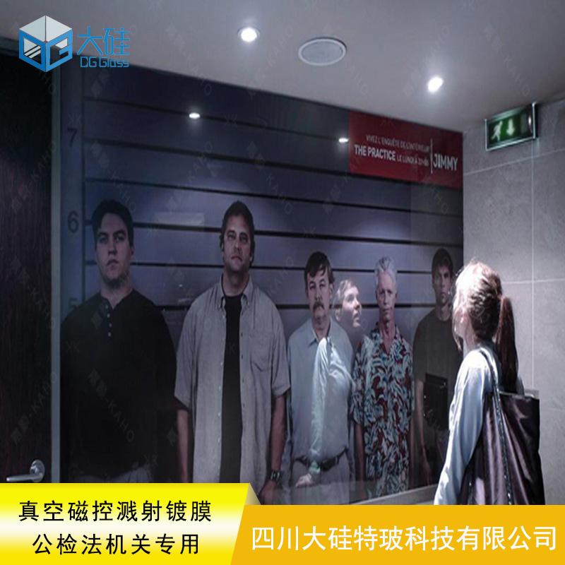 陕西汉中监狱审讯辨认室单面镜产品供应